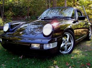 2.65 Porsche 911 Carrera 4 Coupe (964) 1988 года