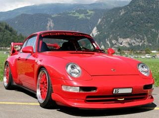 2.66 Porsche 911 Carrera RS Coupe (993) 1995 года