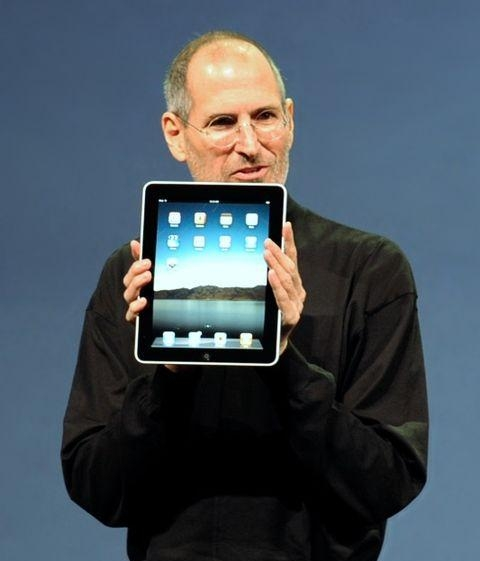 2. Steve Jobs, Apple's then-CEO, introducing the iPad