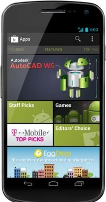 6. Play Store on the Galaxy Nexus.