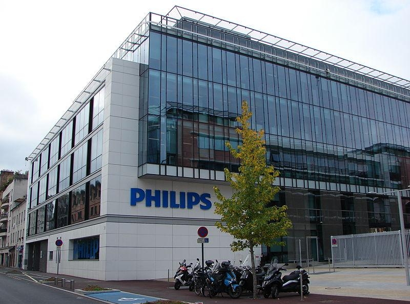 11. The headquarters of Philips France in Suresnes