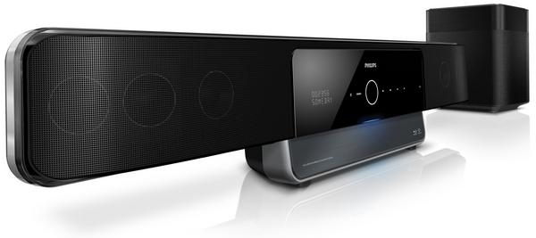 23. Новый домашний кинотеатр Philips SoundBar HTS8160 поддерживает Blu-ray