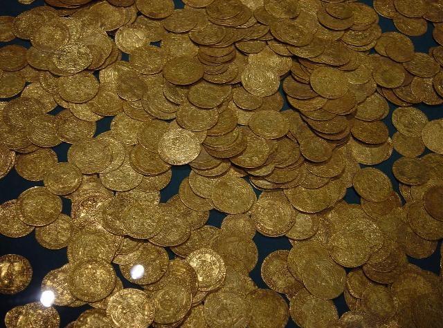 Распространение золота в природе