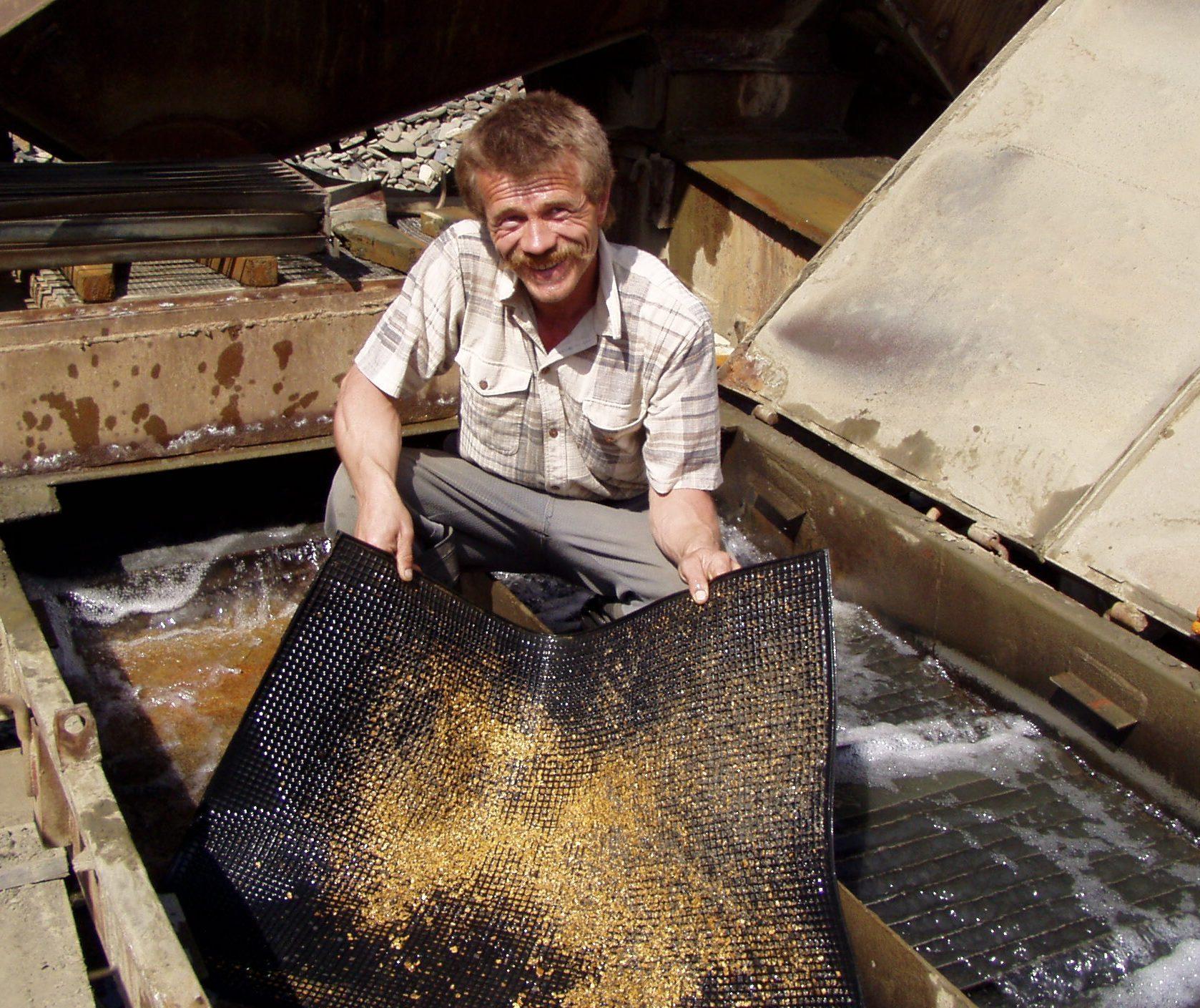 Промприбор для промывки золота своими руками 57