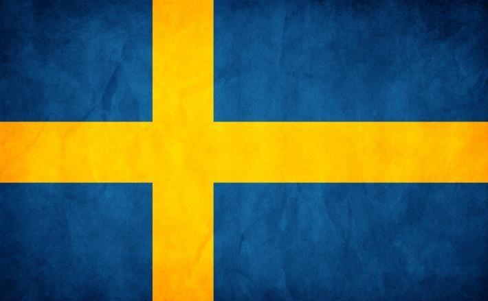 Флаг швеции страны в евс
