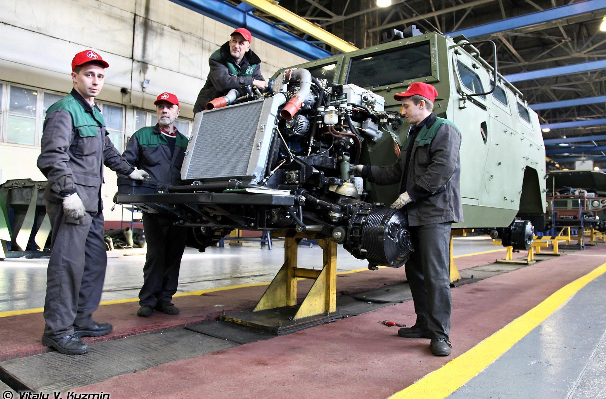 изготовление Тигр М на арзамасском заводе