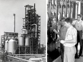 нефтеперерабатывающий завод</a> компании Сокони-Вакуум в Полсборо