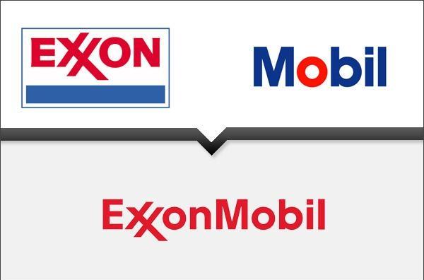 объединение компаний в корпораццию exxon Mobil