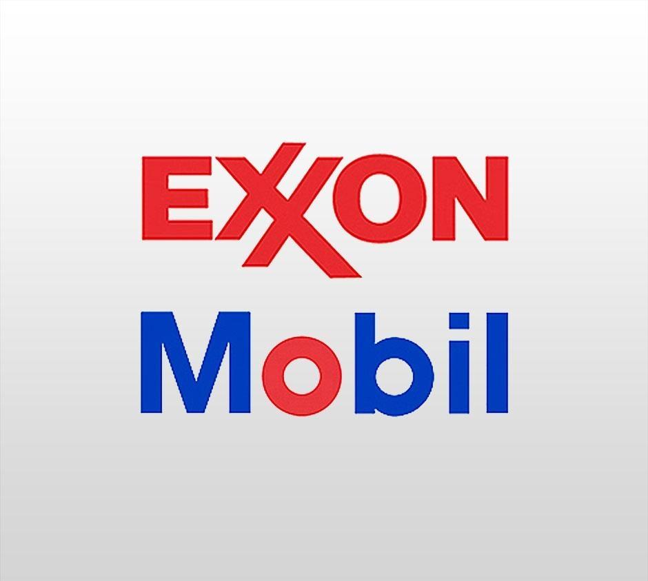 логотип корпорации Exxon Mobil