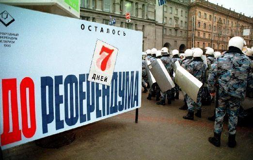 Обстановка в Минске за семь дней до Референдума