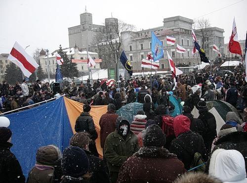 События в Минске 19-24 марта 2006 года