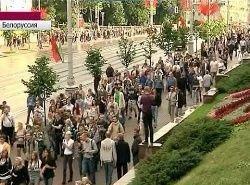 Молчаливый протест прошел в День Независимости Беларуси
