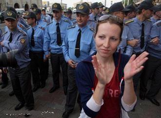 Акция молчаливого протеста в Минске