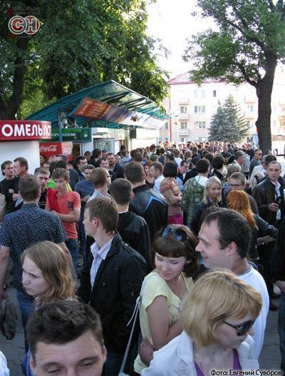 Акция молчаливого протеста прошла 29 июня с 19ю00 до 19.30 в Гомеле
