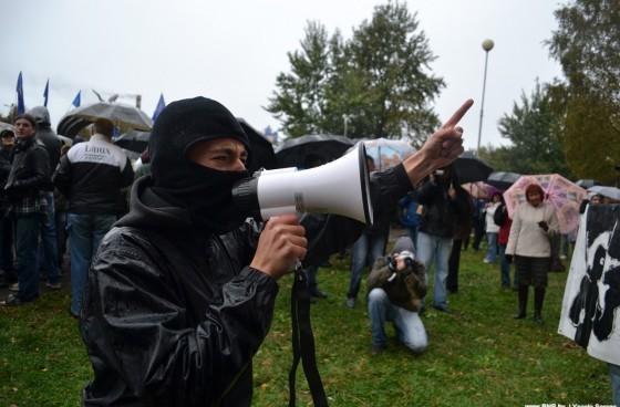 Активисты акции народного схода