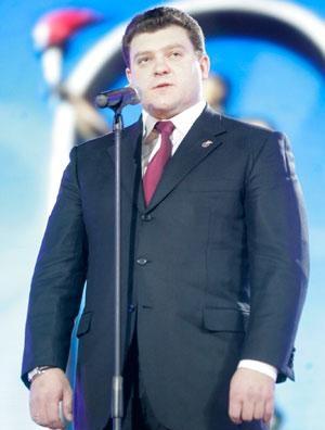 Дмитрий Лукашенко - сын Александра Лукашенко - невъездной в Европу