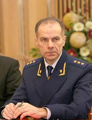 Григорий Василевич - Генеральный прокурор Беларуси - невъездной в Европу