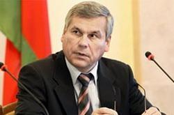 Владимир Андрейченко - спикер нижней палаты Парламента Беларуси - невъездной в Европу