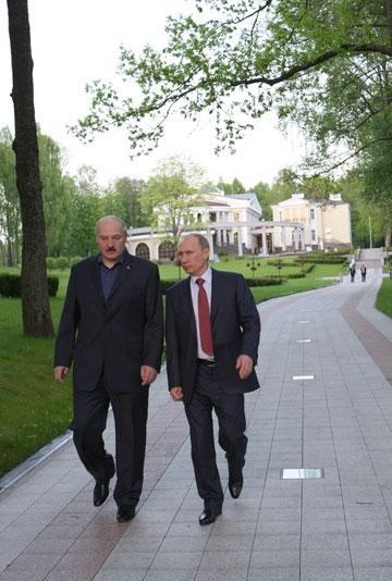Встреча Лукашенко и Путина