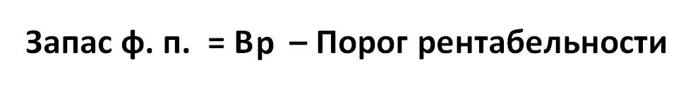 formula opredeleniya zapasa procnosti predpriyyatiya