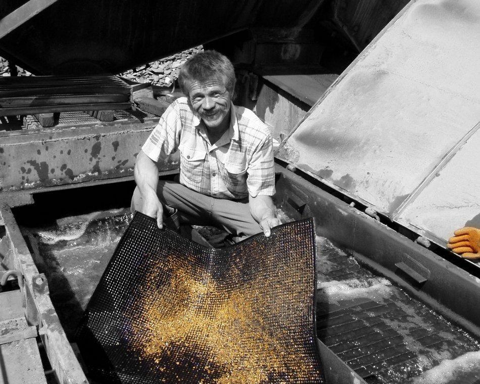 Драга своими руками для добычи золота