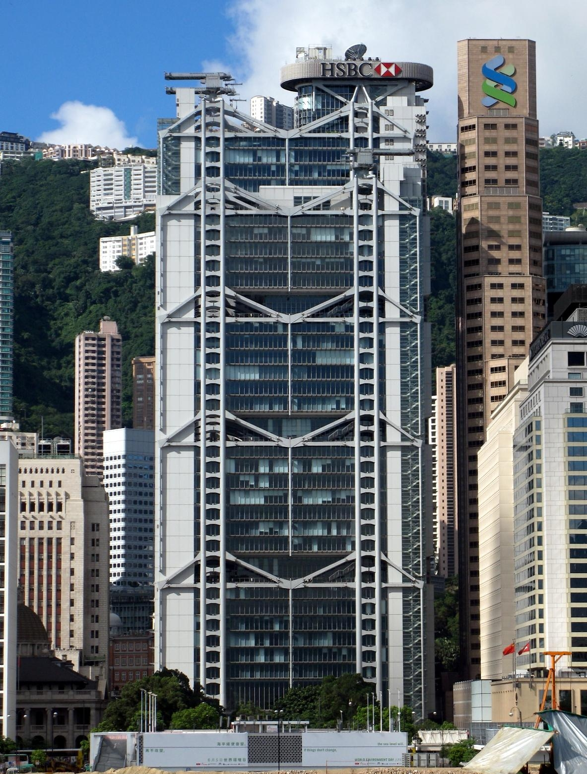 Hong Kong Shanghai Banking Corporation головной офис 2008 год