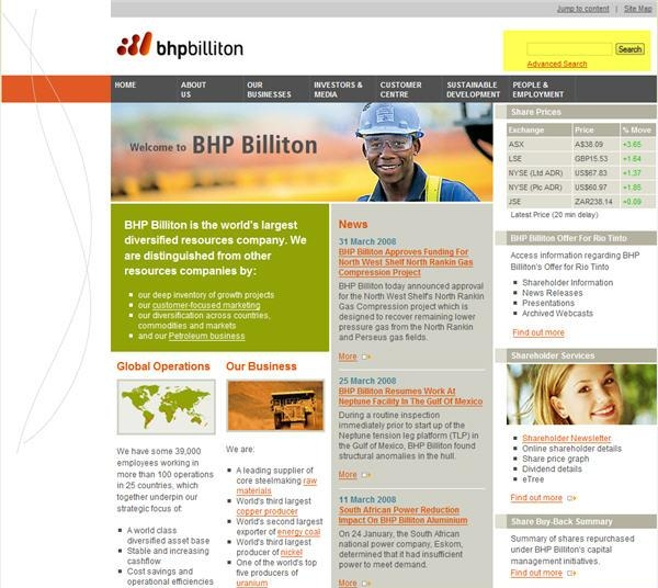 strategic choices for bhp billiton management essay Bhp billiton is to be the company of choice by creating sustainable value for the shareholders, employees, contractors, suppliers, customers, business partners and host communities.