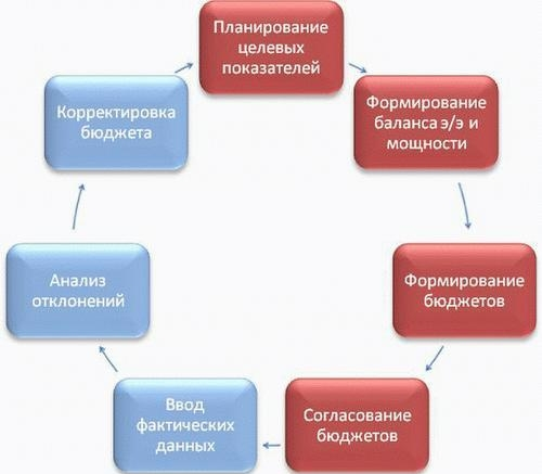 Схема бюджетного процесса