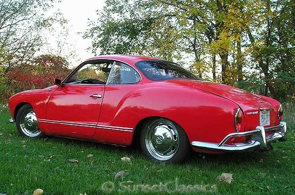 2.81. VW Karmann Ghia, 1968
