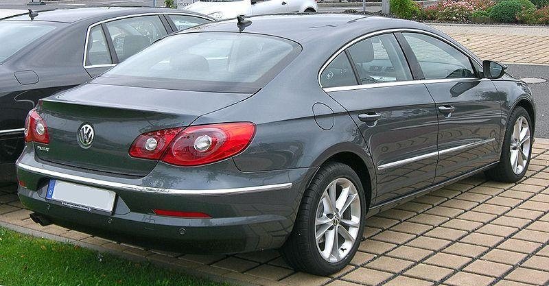 3.21. VW Passat CC rear