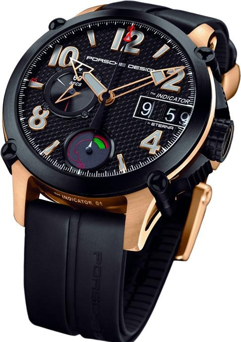 5.5. Porsche Design INDICATOR P'6910 Chronograph Arrives In Rose Gold