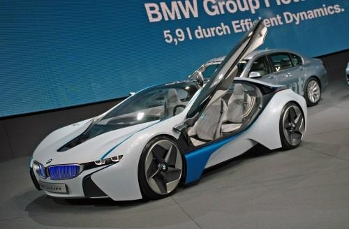 8.150. BMW Vision EfficientDynamics, 2009