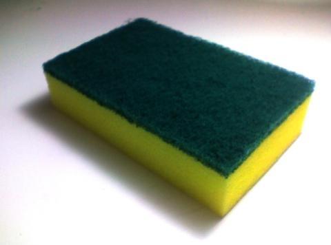 24. Полиуретановая кухонная губка