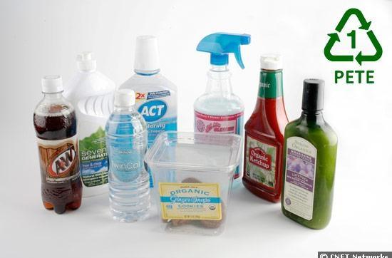 26. Бутылки изготовленные из полиэтилентерефталата