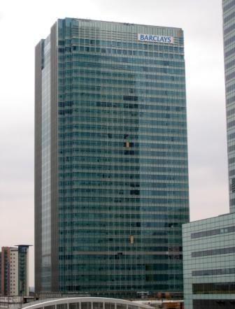 5. Офис Barclays Group в Лондоне (район Canary Wharf)